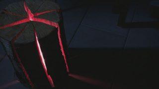 Baumstamm-Leuchte